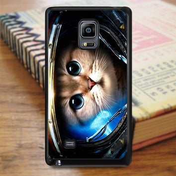 Astronaut Cat In Space Kitty Samsung Galaxy Note Edge Case