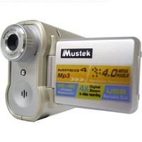 Mustek DV-3500 Digital Camera w/Digital Video, Voice Recorder, and MP3 Capability