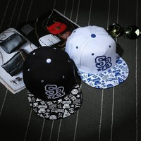 Couple Hip-hop Hats Stylish Outdoors Baseball Cap [9730954179]