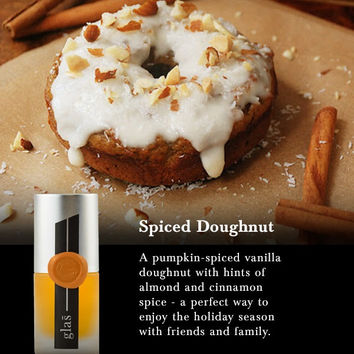Spiced Doughnut- Glas (Seasonal)