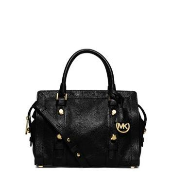 Collins Stud Medium Leather Satchel | Michael Kors