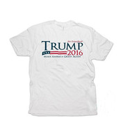 2016 Donald Trump T Shirt American Presidential Election Elector T-shirt Voter Men Women Short Sleeve O Neck Tshirts Cotton New