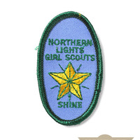 Northern Lights Girl Scouts Patch