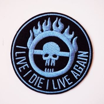 """""""I Live, I Die"""" Patch"""