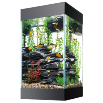 Aqueon® 15 Gallon Column Deluxe Aquarium Kit | Aquariums | PetSmart