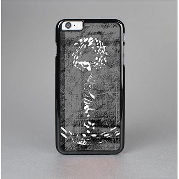 The Smudged White and Black Anchor Pattern Skin-Sert for the Apple iPhone 6 Skin-Sert Case