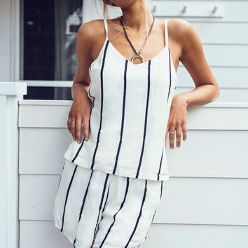 Striped Honey Set | SABO SKIRT