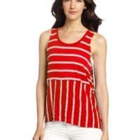 Michael Stars Women's Stripe Crop Tank