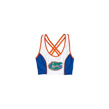 University of Florida Sporty Cropped Tank