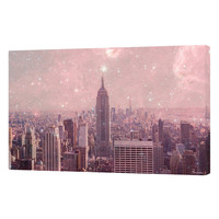 Curioos Stardust Covering New York by Bianca Green (Canvas)