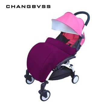 Warm Baby Stroller Foot Cover 60*40cm Universal Baby Trolley Pushchair Pram Foot Muff poussette 3 Colors Stroller Accessories