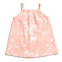 Milano Baby Dress - The Farm Next Door Blush Pink