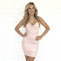 Girls Night Out Pink Party Dress
