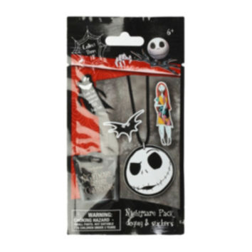 The Nightmare Before Christmas Dog Tag & Stickers Blind Bag