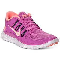 Nike Women's Shoes, Free 5.0+ Running Sneakers - Finish Line Athletic Shoes - Shoes - Macy's