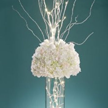 David Tutera LED Lighted Branch - White - 31.5 inches