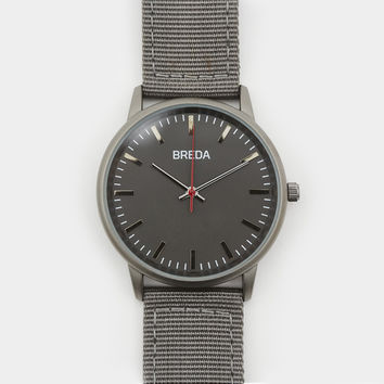 Breda Valor Watch Gunmetal