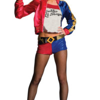 Women's Suicide Squad Deluxe Harley Quinn Costume