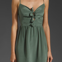 Paper Crown by Lauren Conrad Peony Dress in Moss from REVOLVEclothing.com