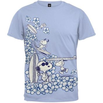 DCCKU3R Peanuts - All-Over Surf T-Shirt
