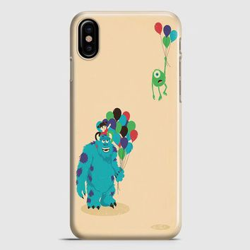 Monster Inc Baloon iPhone X Case