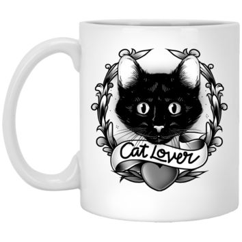 Cat Lovers Custom Mug