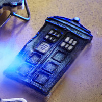 TARDIS and Angel Cookie Cutters in cookie and pastry cutters at Lakeland