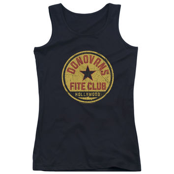 Ray Donovan Fite Club Black Womens Tank-Top T-Shirt
