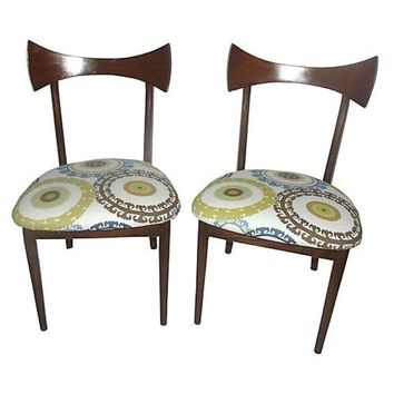 Pre-owned Vintage 1950s Danish Modern Chairs