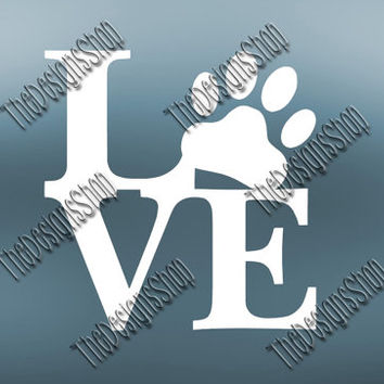 Dog Life SVG | Love Dog Decal Cutting File | Pet Mom SVG Cuttable File for Cricut Explore | Silhouette Cameo Cutting Machines | 024