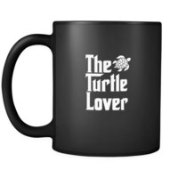 Turtle The Turtle Lover 11oz Black Mug