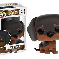 Funko Pop Pets: Dachshund Dog Vinyl Figure