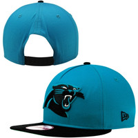 New Era Carolina Panthers Team Flip 9FIFTY Snapback Adjustable Hat - Panther Blue