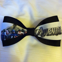Disney Marvel Avengers Hair Bow by FreshBows on Etsy