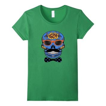 Funny Halloween Skull T-Shirt - Day Of The Dead Shirt
