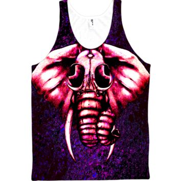 Electro Elephant Tank-top – ElectroThreads
