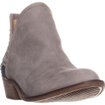 Lucky Brand Kambry2 Pull On Ankle Boots, Driftwood, 7.5 US / 37.5 EU