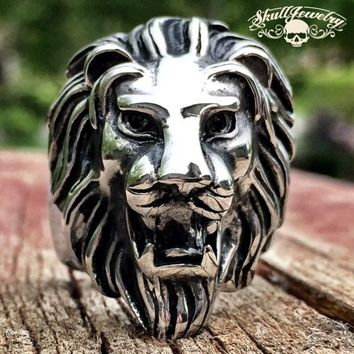 'Lion Heart' Big, Bold & Heavy Ring (277)