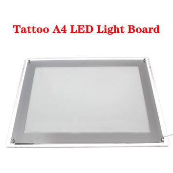 Tattoo Supply Ultra Thin Tracing Table Pad A4 LED Stencil Board Box New