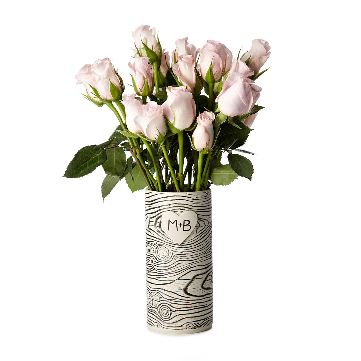 faux bois personalized vase from uncommongoods interior. Black Bedroom Furniture Sets. Home Design Ideas