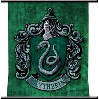 Harry Potter and the Half-Blood Prince Slytherin Wall Scroll | HarryPotterShop.com