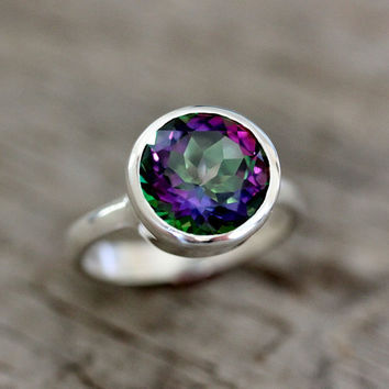 Limited Edition Sterling Silver Ring Featuring by onegarnetgirl