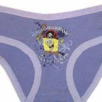 WebUndies.com SpongeBob Pirate Pants Purple Boy Brief Panty