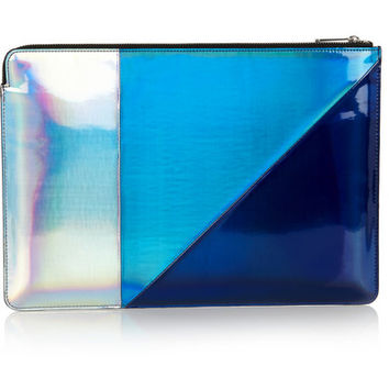 Marc by Marc Jacobs | Holographic TPU laptop case | NET-A-PORTER.COM