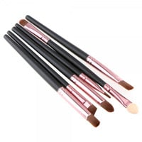 6pcs Professional Cosmetic Eye Make-up Brushes
