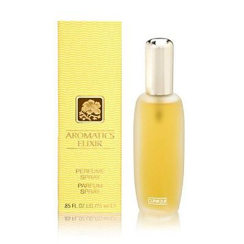 Clinique Aromatics Elixir Perfume For Women 0.85 Oz Perfume Spray NIB