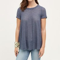 Everleigh Waffled Swing Tee
