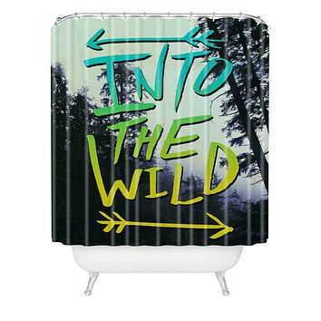 Leah Flores Into The Wild 2 Shower Curtain