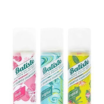 Batiste Dry Shampoo Holiday Trio Pack