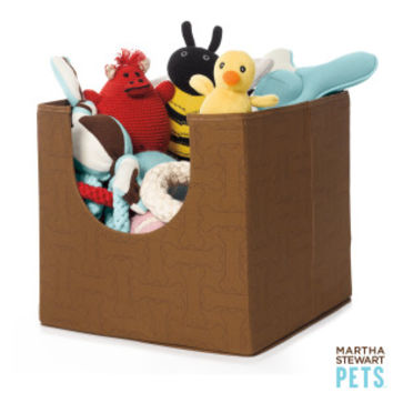 Martha Stewart Pets® Pet Toy Storage Bin | Toy Boxes | PetSmart